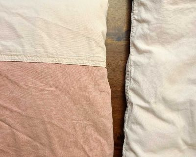Ikea crib/toddler pillow and duvet cover