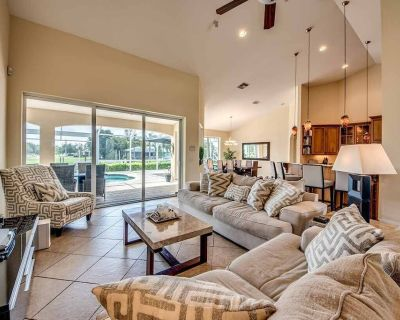 SE Cape Coral Waterfront Home with Heated Pool & Spa - Caloosahatchee