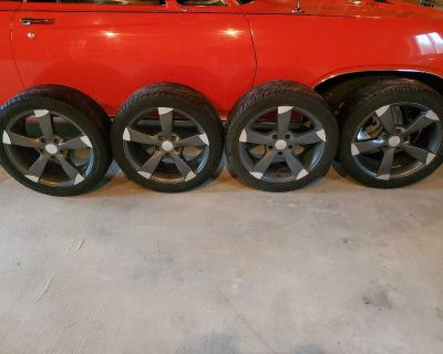 Core racing wheels and tires