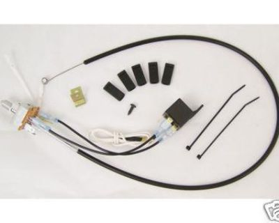 Blower Switch/cable, Replaces Gm# 3864600 1963-1967 Corvette [24-0584]