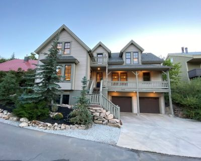5 BR Large Home - Walk to Main St - 2 Master Suites - Downtown Park City