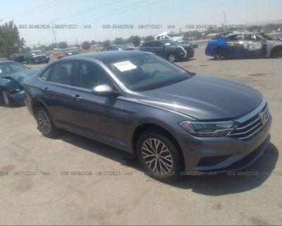 Salvage Gray 2020 Volkswagen Jetta