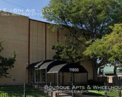 11600 E 16th Ave #102, Aurora, CO 80010 1 Bedroom Apartment
