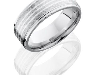 Cobalt Chrome Wedding Bands