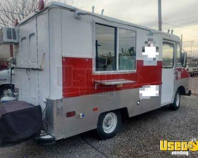 Used Basic Chevrolet Food Truck Mobile Kitchen