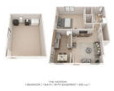 Roberts Mill Apartments & Townhomes - One Bedroom Large