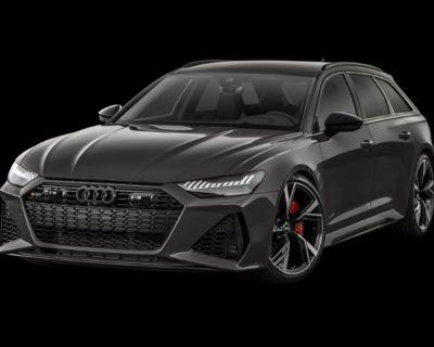 New 2021 Audi RS 6 4.2 All Wheel Drive Wagon