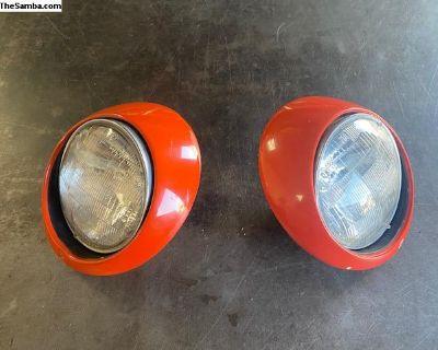 911 headlight assemblies