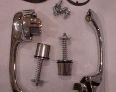 1967 - 1969 Camaro / Firebird Outer Door Handles - Set Of Handles With Gaskets