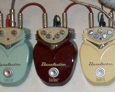 "Danelectro ""Metal"" pedals"