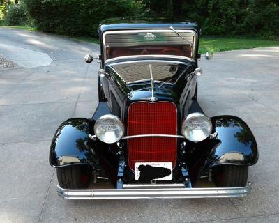 1932 Ford 5 Window 2-door 5-Window All-Steel Coupe Five-Window Original