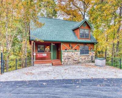 Dog-friendly cabin w/ private hot tub, deck & pool access - in Pigeon Forge! - Pigeon Forge