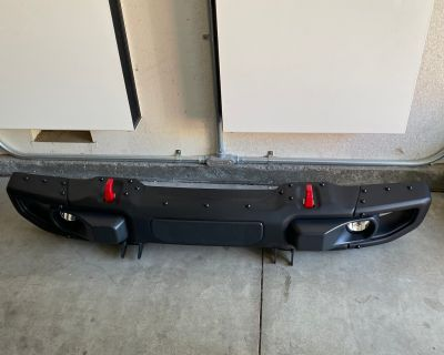 California - Jeep Gladiator Rubicon Front & Rear Steel bumpers