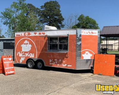 2019 - 8' x 18' Mobile Food Concession Trailer with Pro-Fire