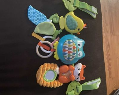 Car seat or couch activity toy