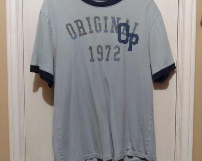 Men's OP t-shirt. See description.