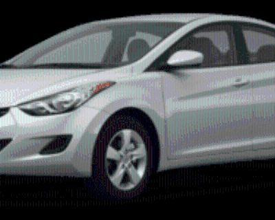 2011 Hyundai Elantra Limited Sedan Automatic (Ulsan Plant) (PZEV)