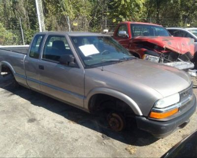 Salvage Champagne 2003 Chevrolet S-10