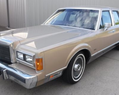 1989 LINCOLN TOWN CAR SIGNATURE SERIES LEATHER SIGNATURE SERIES 73000