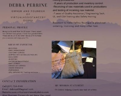 Small Business or Personal / Virtual Assistant