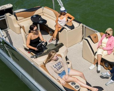 2022 Tahoe Pontoon LTZ 22-24 Cruise Rear Bench