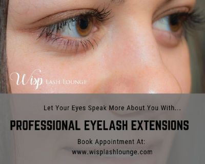 Enhance your beauty with professional eyelash extensions and eyebrow shaping