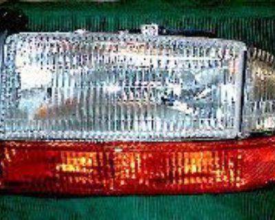 R Headlight W Corner 98 99 00 01 Dakota 1998 1999 -2001