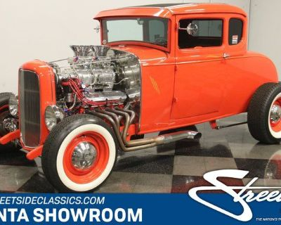 1930 Ford 5-Window Coupe