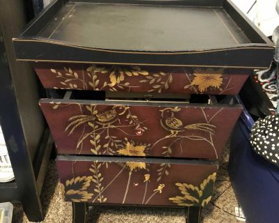 Game Chest End Table
