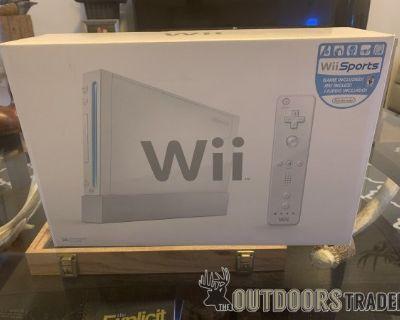 FS/FT Nintendo Wii (unopened)