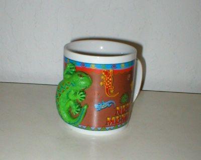 Coffee Mug with Gecko on Side - New Mexico - Never Used