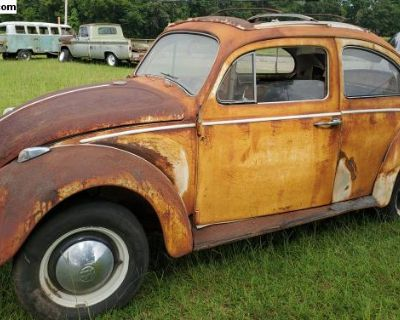 1962 VW Bug Rag Top
