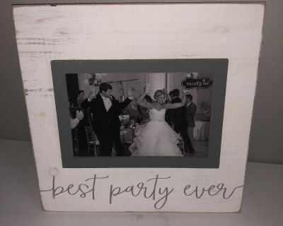 Best Party Ever Mud Pie Frame