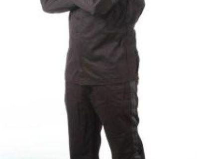 Racequip 2 Piece Single Layer 110 Series Driving Racing Suit Black Size Large