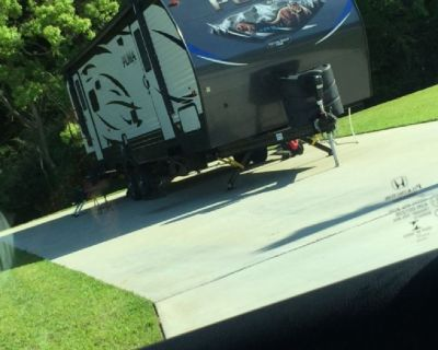 2019 Puma travel trailer and land