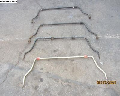 Super Beetle Sway Bars (Section Ff)