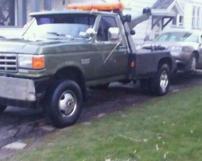 Wrecker Tow Truck 1991 Fordf350 Superduty