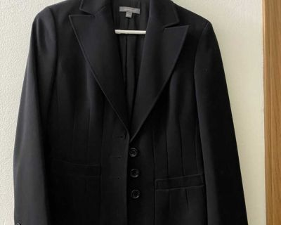 Ann Taylor size 4 black suit blazer