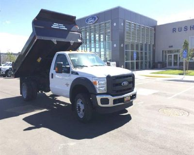 2016 Ford Super Duty F-550 DRW Chassis Cab