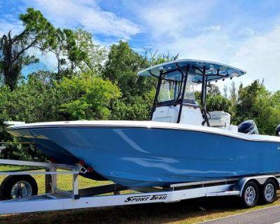 2021 Sea Cat 260 Hybrid Bay