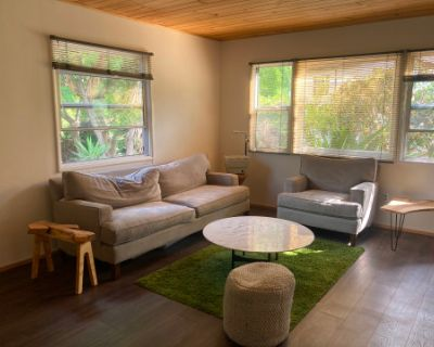 Rustic Cabin with Fireplace or Simple Contemporary House with Natural Light and, Los Angeles, CA