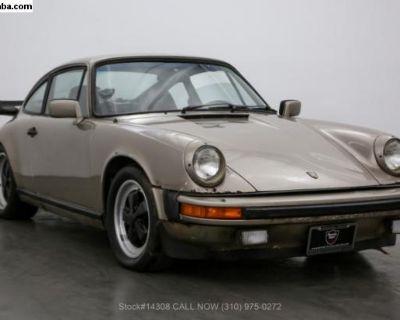 1982 Porsche 911SC Sunroof Delete Coupe