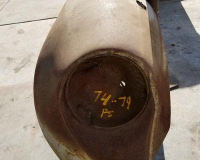 Bug 74-79 passide front fender