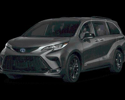 New 2022 Toyota Sienna XSE All Wheel Drive 5 (In-Transit)