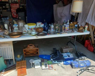 GARAGE SALE THURSDAY AND FRIDAY 7AM-4