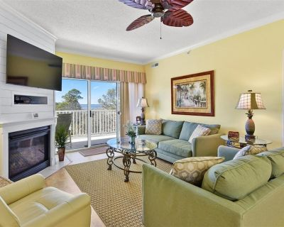 Great Bay Views From Your Wrap Around Balcony in this Summer House Condo with Outdoor Pool! - North Ocean City
