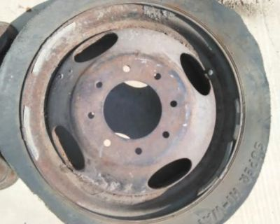 17.5 Motorhome Wheel Budd Military Winnebago Prowler Bounder 1974 1970 1975 1972