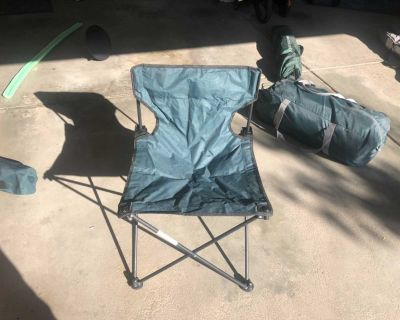 Green Camping Chair
