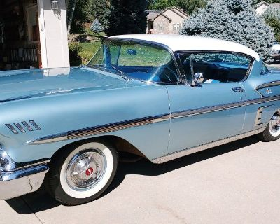1958 Chevrolet Impala Hardtop Sport Coupe w/Original V-8 348 Tri Power