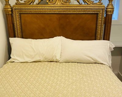 Chintz and company Queen size bed frame